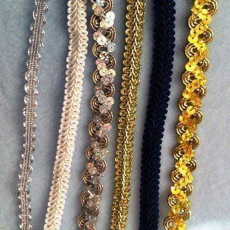 Sequins and Metallic Trim